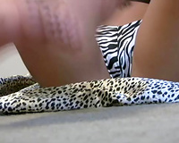 Lovely feet of a pretty brunette hair white white bitch on livecam