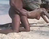 Ardent sex on the beach with my pretty South African beauty