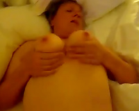 Boning my plump and aged white cheating wife on POV tape