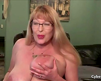 mother I'd like to fuck with Huge Tits Squirting Like a Fountain