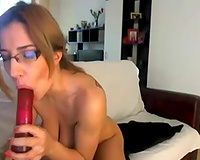 Fabulous couple of large natural mangos from a hot milf wife on web camera