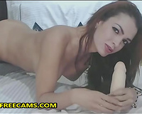 Big Silicone Tits And Ass On Beautiful Babe