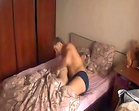 My turned on ally was busy with fucking his lady's bawdy cleft from behind
