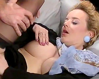 Vintage sex compilation with two classical sex scenes