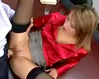 Lustful snaky secretary rides and sucks my shlong after office rencounter