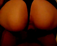 Skinny and lewd short haired Brazilian sweetheart engulfing dick