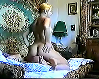 My sexy Russian marvelous white women grinding her ass on my face