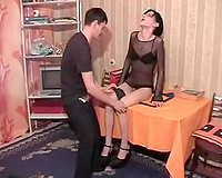 Mutual oral-stimulation pleasure with my sexy slender t-girl ally
