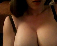 Smoking hawt busty mother I'd like to fuck cheating wife of kine pets her twat with sex toy