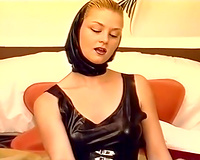 Insane act with naughty white European sluts and overweight dude