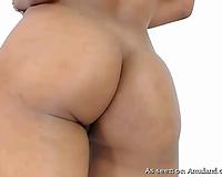 Sensationla gazoo of a gorgeous latina non-professional sweetheart stripped