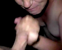 Cum voracious playful dirty slut wife blows me and lastly acquires facial