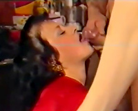 Retro porn compilation with 2 awesome FFM actions