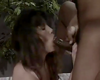 Steamy interracial sex with lusty dark brown and ballsy dark chap