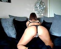 Alluring British bitch talks to me and demonstrates her sexy body