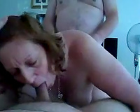 Mature neighbor pair let me join 'em in trio
