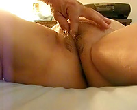 Lecherous fattie acquires love tunnel licking and fingering from me