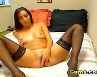 Webcam Babe Enjoys a Dildo like a Hard Cock