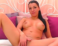 This buxom honey can turn into the dirtiest cam model withing seconds