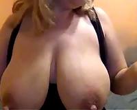 I am still KO'd from my girlfriend's massive lactating breasts