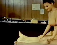 Black sweetheart got her taut and all soaked pussy team-fucked hard