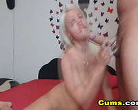 Super Hot Girl receives Fucked and Swallows Cum