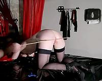 French white floozy enjoys wonderful a-hole penetration with sex toys