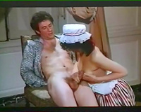 Naughty classic French maids having fuckfest with lords