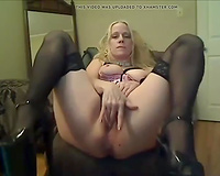 In addition to the normal toyplay this babe is not shy to show off her cum-hole