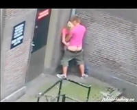 Extreme public sex in the street daytime voyeur clip