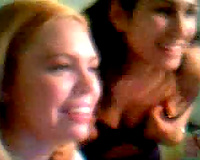 Two shiny college hoes expose me their agreeable tits on cam chat