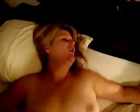 Passionately and gently fucking my friend's lustful plump slutty wife