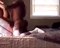 Horny chap drills hard his overweight dirty slut wife in missionary style