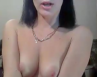 Russian livecam white lady with likewise pale tiny bazookas posed in her lacy nylons