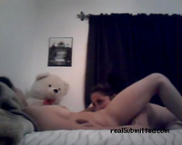 Amateur exotic dark brown lesbian babes on cam doing it softcore