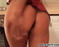 German non-professional Milf with large melons acquires screwed hard