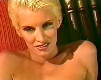 A bunch of hot and insatiable hotties in fleshly classic lesbo fuckfest