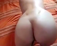 Submissive sexy milf horny white wife with large a-hole getting whipped