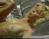 Beautiful and well shaped blondie enjoys hardcore outdoor sex