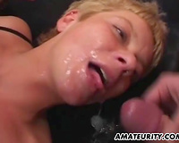 Amateur girlfriend anal fuckfest with facual cumshots