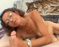 When u are despairing u can still receive a oral-service from lewd granny