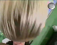 Strange blond whore acquires her clam fingered POV style in advance of busywork