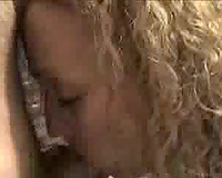 Blonde Wife showing her spouse a nice bj