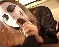 Marilyn Manson gives head
