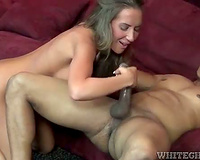 Richelle Ryan interracial hardcore sex in high heels