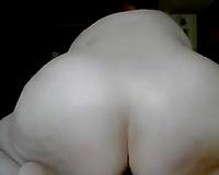 Nasty big beautiful woman with dirty mind masturbates with dark sextoy