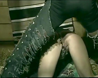 Retro porn compilation with four Euro whores doing anal