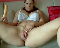 mother I'd like to fuck with large booty enjoyed teasing her own fascinating beefy muff