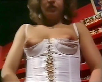 Cock hungry classic German bitches giving head and fucking