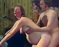 Pregnant woman in hot nylons can't live without to fuck on camera
